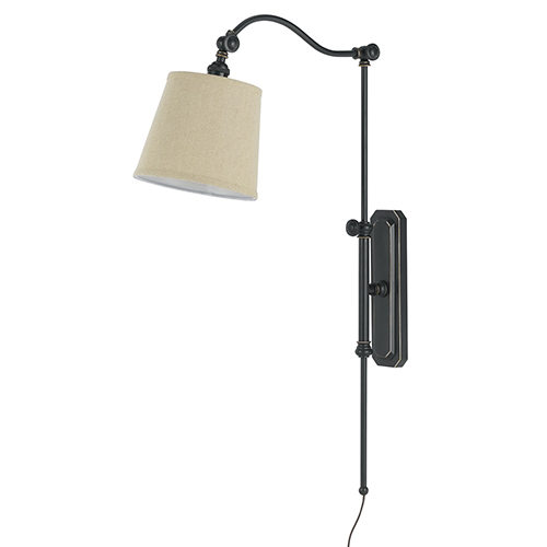 Pompano Oil Rubbed Bronze One-Light Wall Sconce