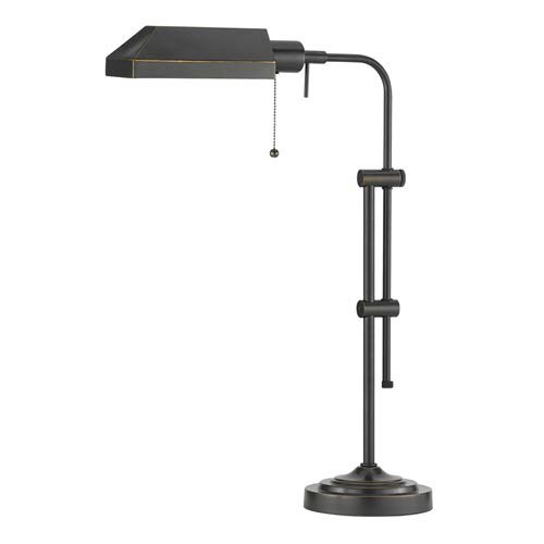 Metal Pharmacy Table Lamp with Adjustable Pole