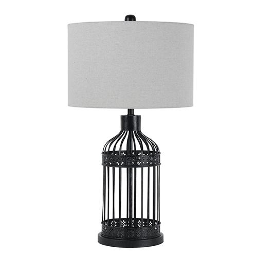 Cal Lighting Iron One-Light Table Lamp