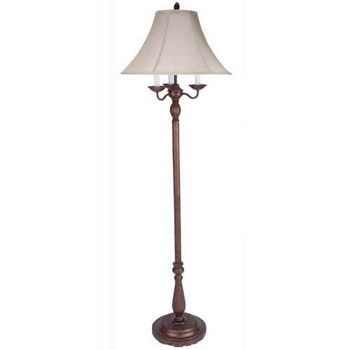 Antique Rust Floor Lamp