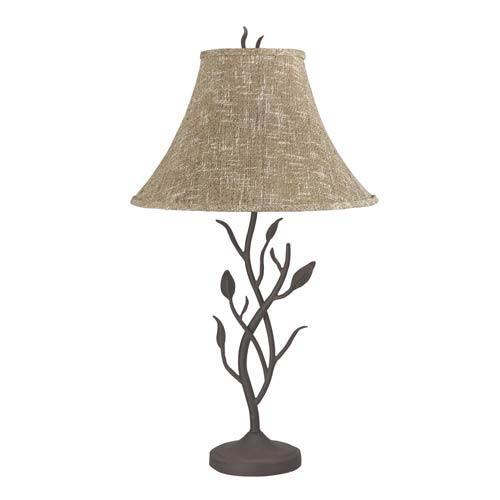 Matte Black Branch Table Lamp
