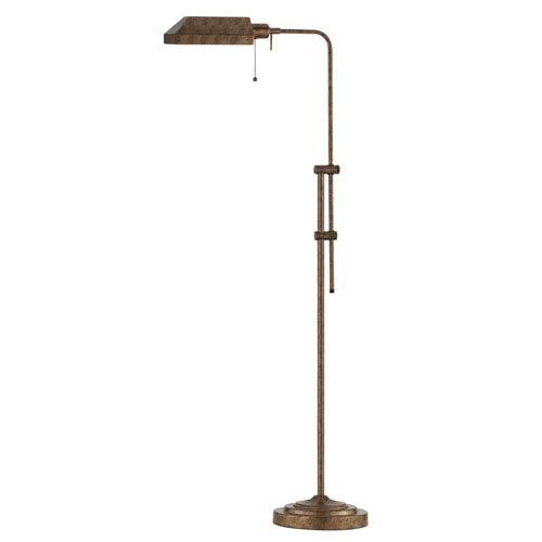 Pharmacy Dark Bronze Floor Lamp w/Adjustable Pole