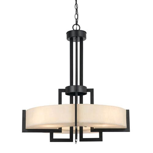 Aberdeen Dark Bronze Four-Light Pendant