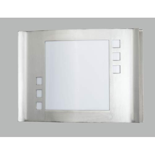 Brushed Steel Wall Sconce