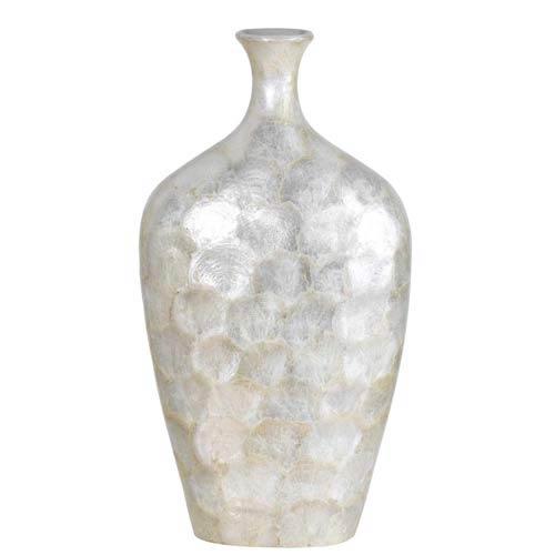 Cal Lighting Resin Genuine Seashell Vase Ta 971l Bellacor