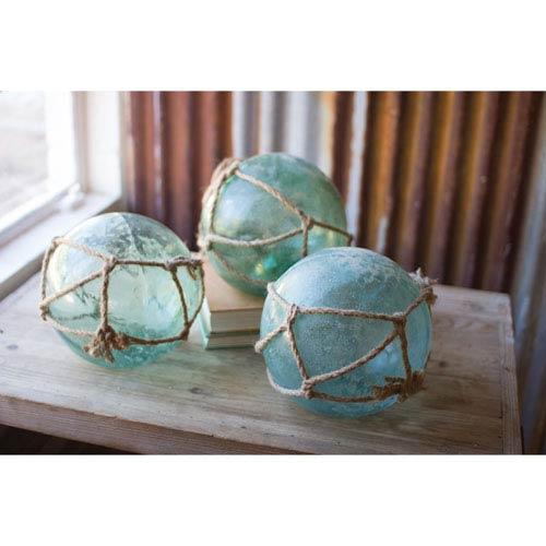Kalalou Antique Glass Floats