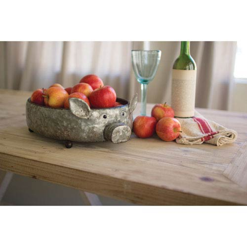 Galvanized Metal Pig Tray