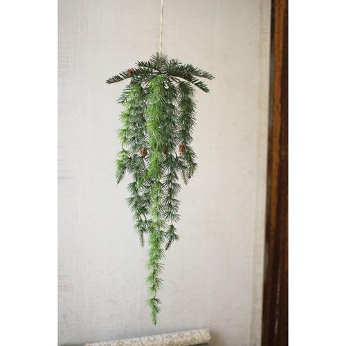Kalalou Hanging Pine with Cones