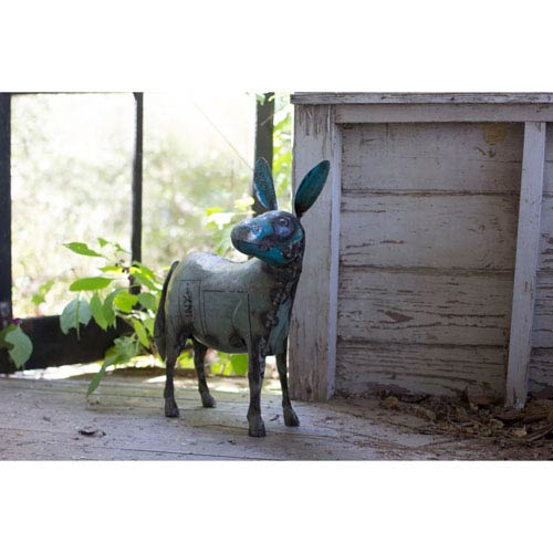 Reclaimed Metal Donkey
