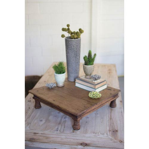 Repurposed Antique Wooden Riser