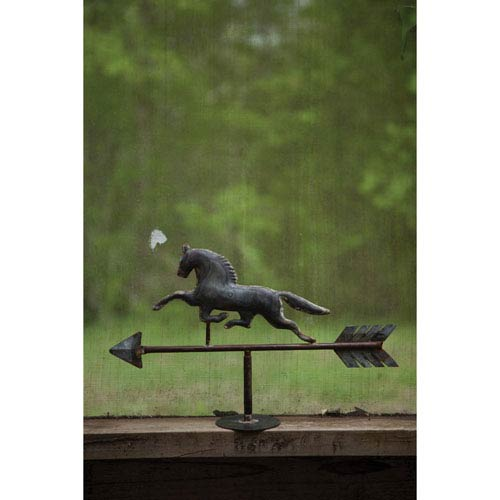 Horse Table Top Zinc Weathervane