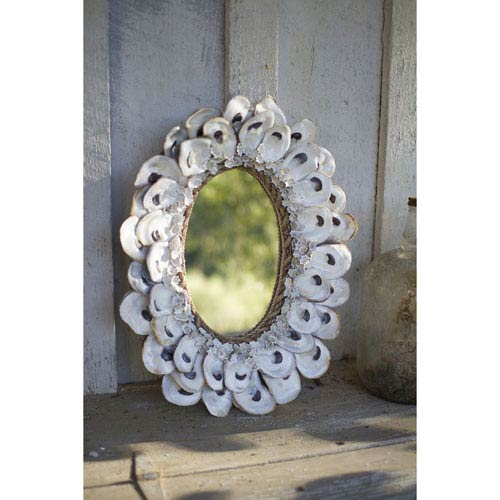 oyster shell decor bellacor