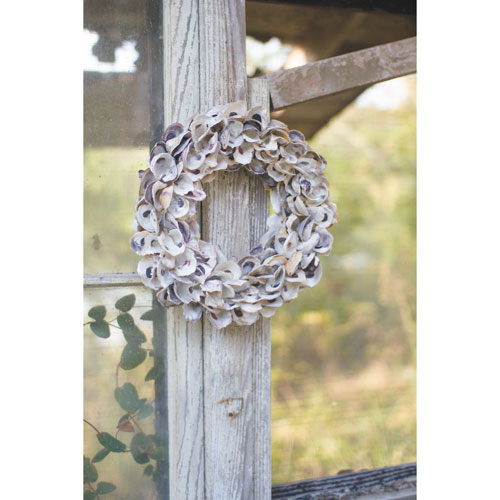 Kalalou Oyster Shell Wreath