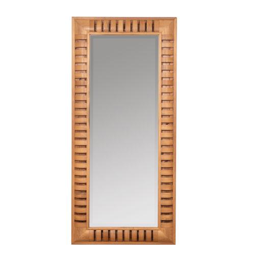 Bellina Natural Wood 78-Inch Floor Mirror