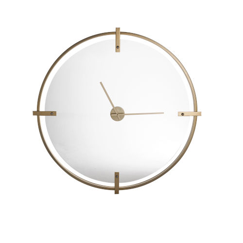 Electra Gold 36-Inch Wall Clock