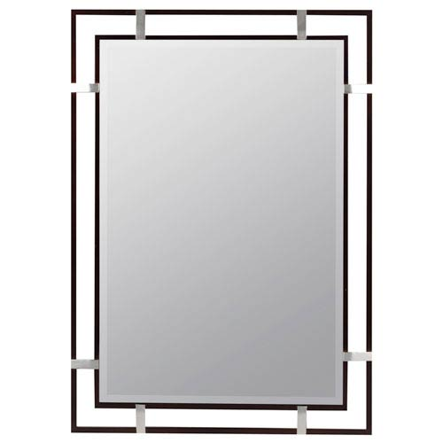 Cooper Classics Kinzie Mocha Beveled Mirror