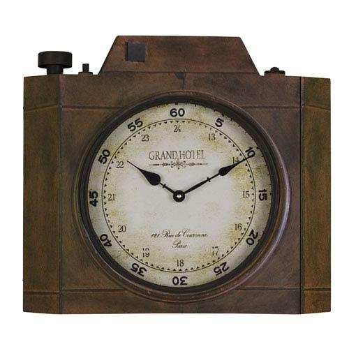 Cooper Classics Valerian Aged Bronze Clock