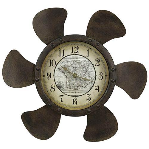 Cooper Classics Landon Rust Clock