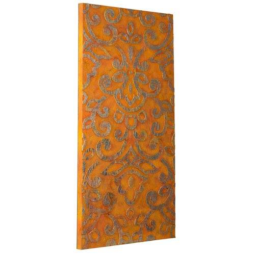 Hawthron Orange Wall Hanging