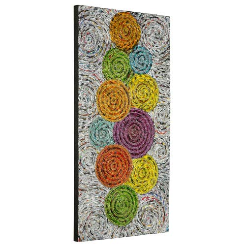 Cooper Classics Utica Multicolor Wall Hanging