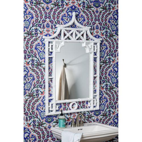 Shing Glossy White Mirror