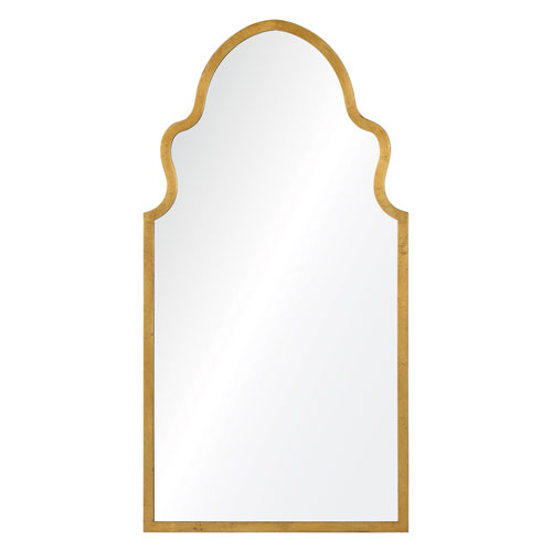 Cooper Classics Lincoln Textured Gold Mirror