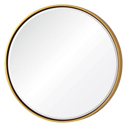 Wren Gold Round Mirror