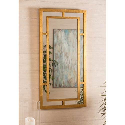 Benedict Gold Rectangular Mirror