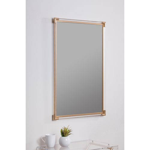 Ambrose Gold Rectangular Mirror