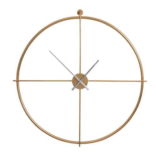 Parsons Gold Wall Clock