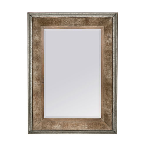 Lukas Brown Rectangular Mirror