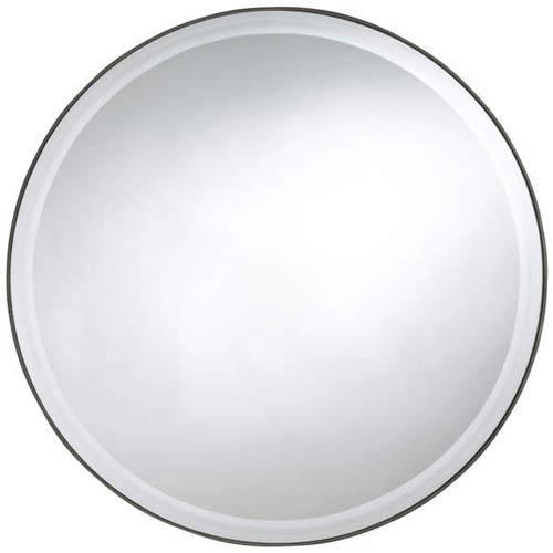 Seymour Round Beveled Mirror
