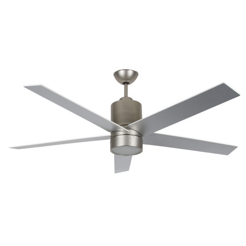 Vento Satin Nickel 56-Inch LED Ceiling Fan