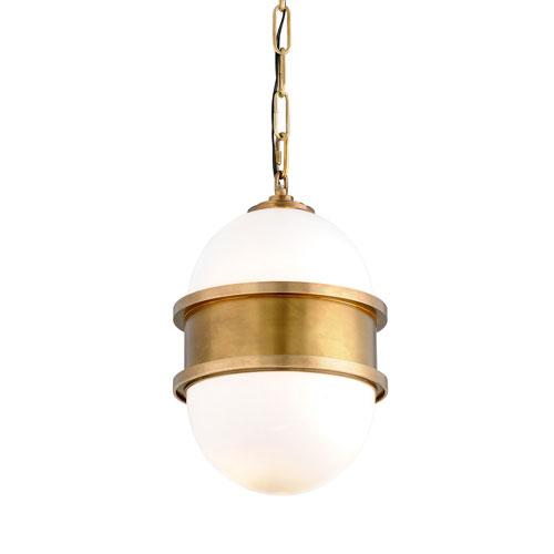 Broomley Vintage Brass One-Light Pendant