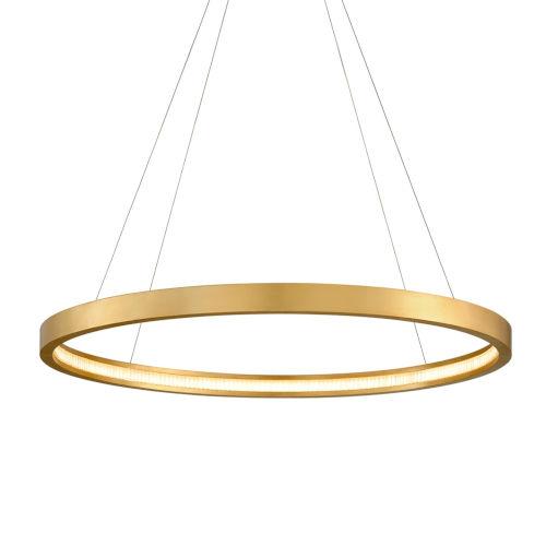 Jasmine Gold Three-Inch Adjustable LED Pendant