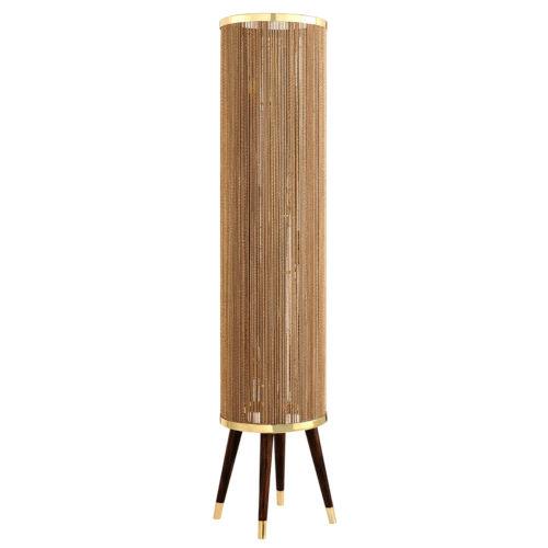 Rhodos Polished Brass 14-Inch Six-Light Floor Lamp