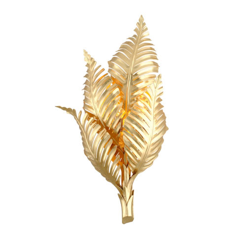 Tropicale Gold 12-Inch Two-Light ADA Wall Sconce