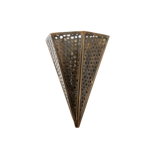 Star Of The East Old World Bronze 10-Inch One-Light ADA Wall Sconce