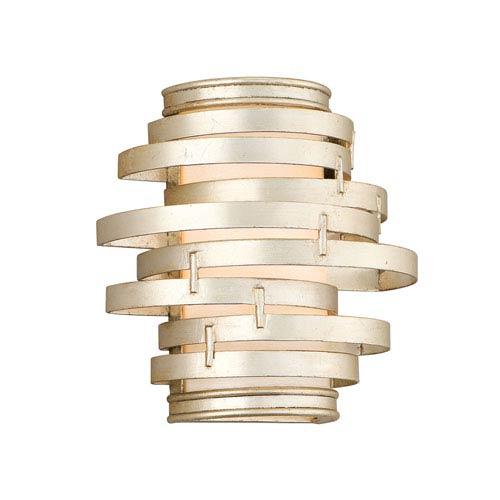 Corbett Vertigo Modern Silver One-Light Wall Sconce