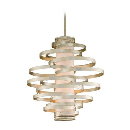 Corbett Vertigo Modern Silver Four-Light Pendant