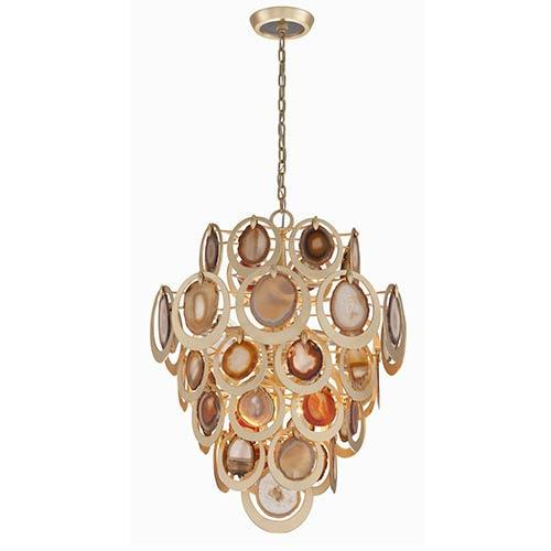 Corbett Rock Star Gold Leaf 10-Light Pendant