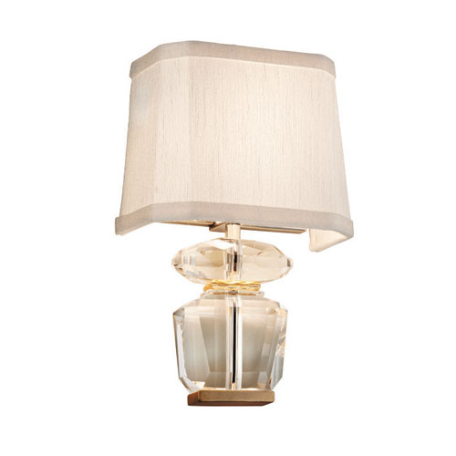 Queen Bee Polished Stainless with Gold Leaf Two-Light Wall Sconce