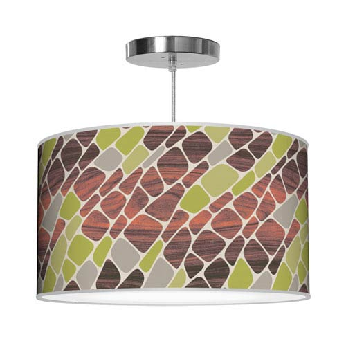 Cell Green 16-Inch One-Light Pendant