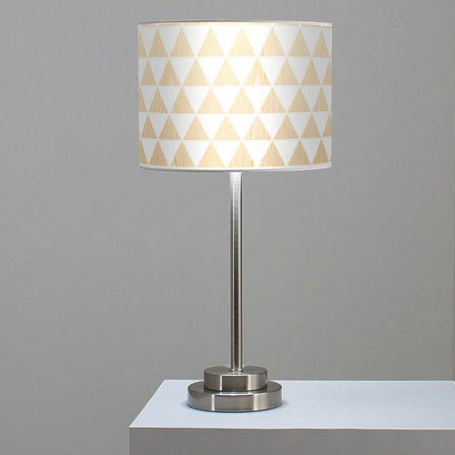 Triangle 1 White Oak One-Light Table Lamp