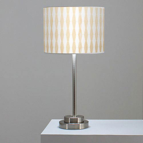 Weave 1 White Oak One-Light Table Lamp