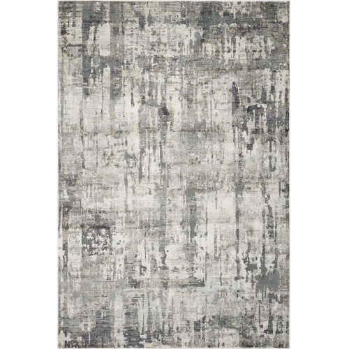 Montreal Moderne Gray Rectangular: 3 Ft. 3 In. x 4 Ft. 11 In. Area Rug