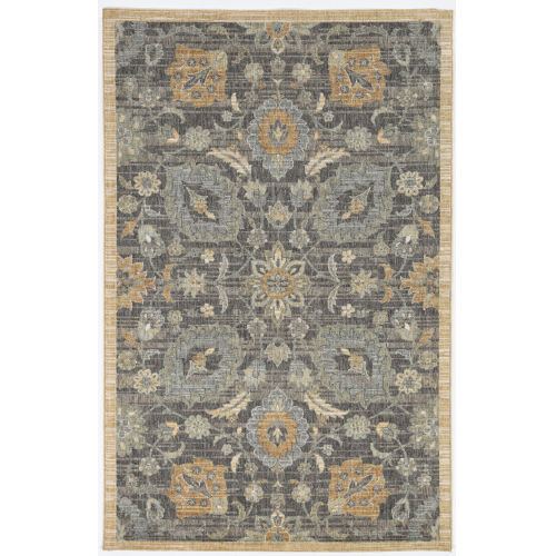Ria Morris Taupe Runner: 2 Ft. 3 In. x 7 Ft. 6 In. Area Rug