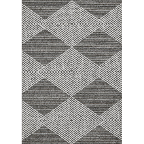 Terrace Gray and Ivory Rug