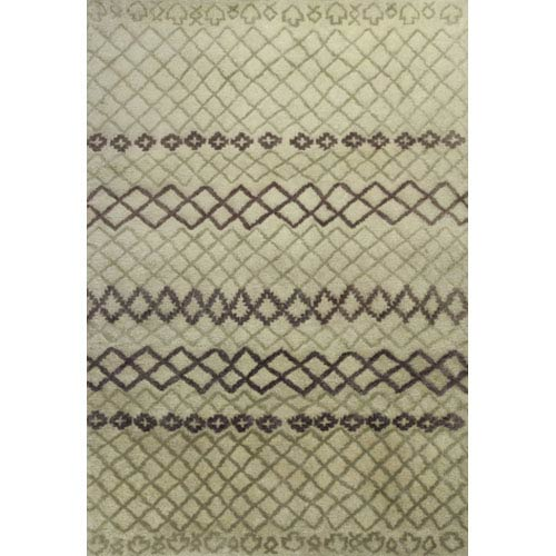 KAS Oriental Rugs Amore Ivory Horizons Rectangular: 5 Ft. x 7 Ft. 6 In. Rug