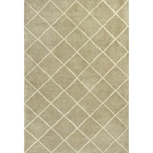 KAS Oriental Rugs Amore Pale Green Views Rectangular: 5 Ft. x 7 Ft. 6 In. Rug